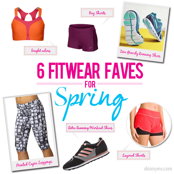 6 Fitwear Faves for Spring