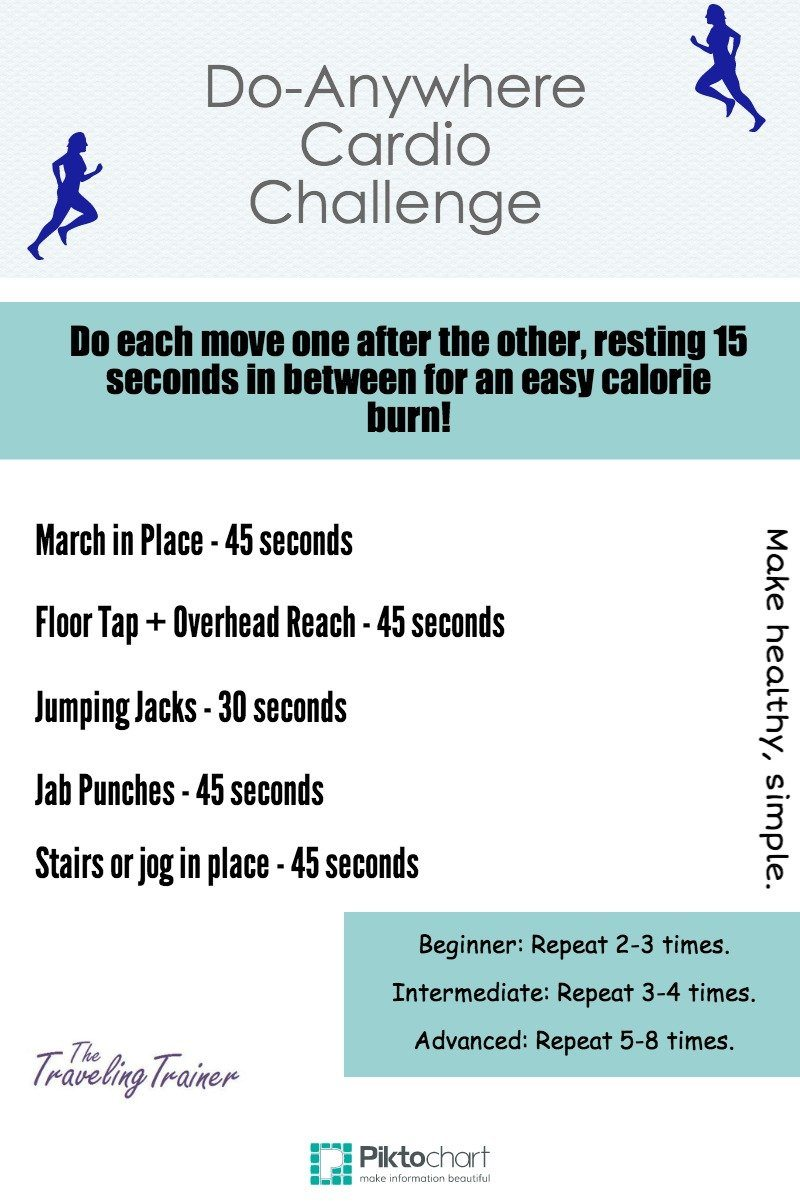 Do-Anywhere Cardio Challenge