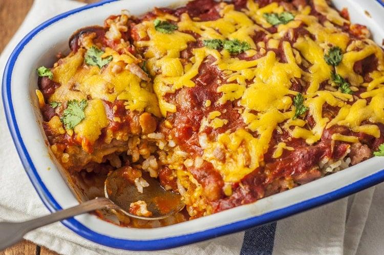 Burrito Pie Casserole