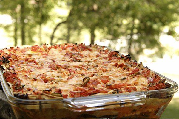 Healthier Burrito Pie Casserole