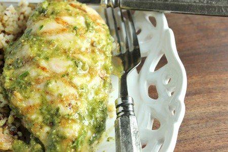 Pesto Grilled Chicken Breasts