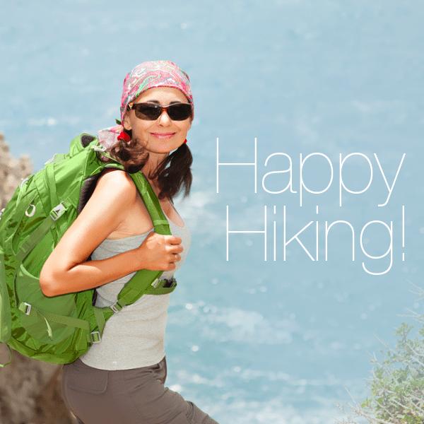 Happy Hiking with Rock Creek