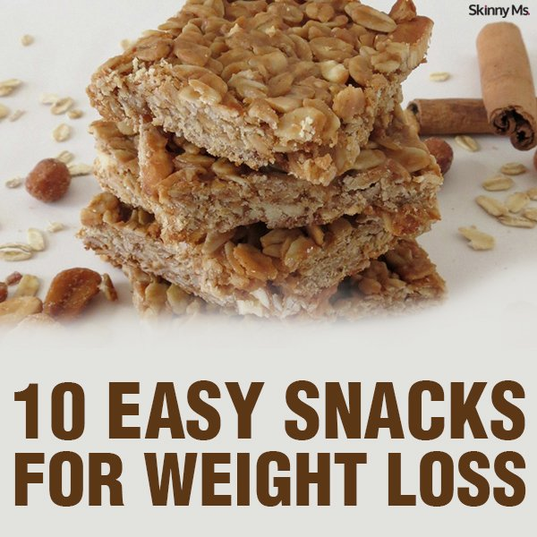 10 Easy Snacks for Weight Loss