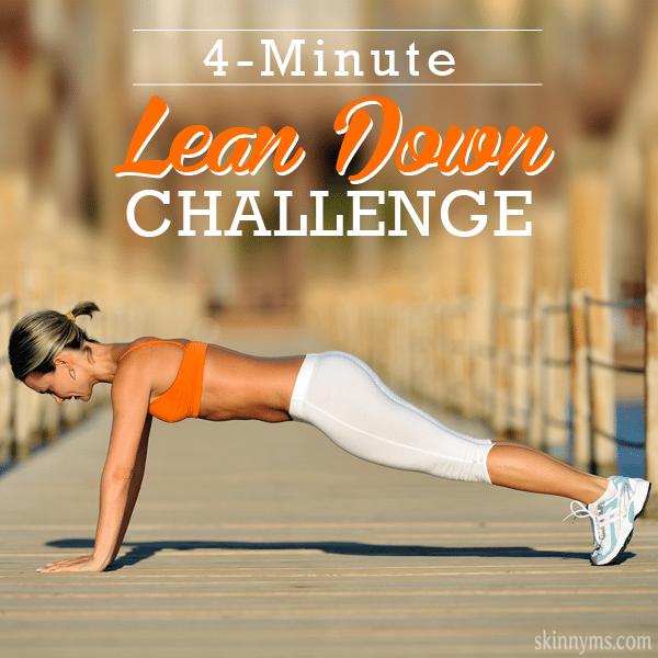 4- Minute Lean Down Challenge