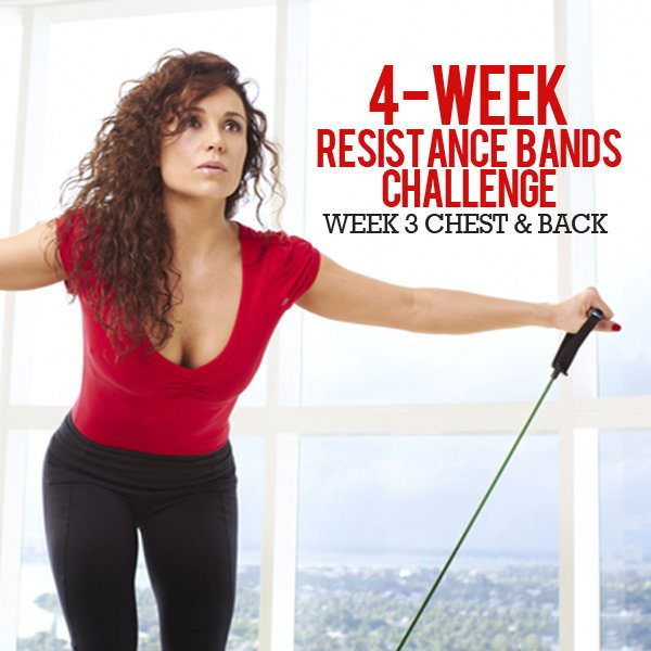 4 Week Resistance Bands Challenge: Week 3