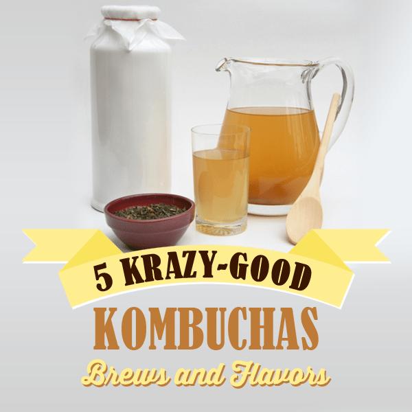5 Krazy- Good Kombuchas