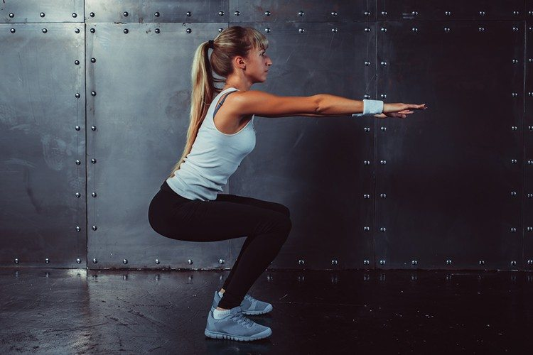 8-Minute Lower Body Circuit Training