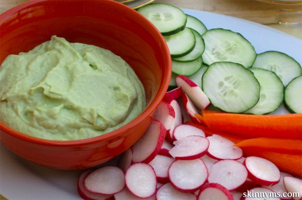 ... these are not a low-calorie food. Indulge in our Creamy Avocado Dip