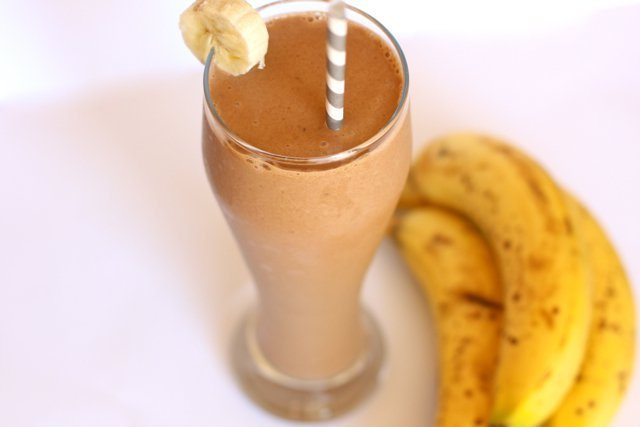 Dairy Free Chocolate Banana Shake
