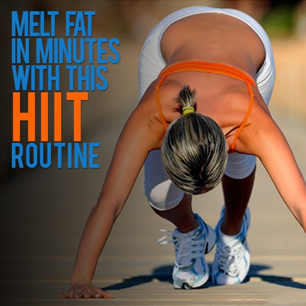 Melt Fat In Minutes With This HIIT Routine