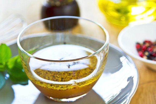 Orange Vinaigrette with Fresh Dill