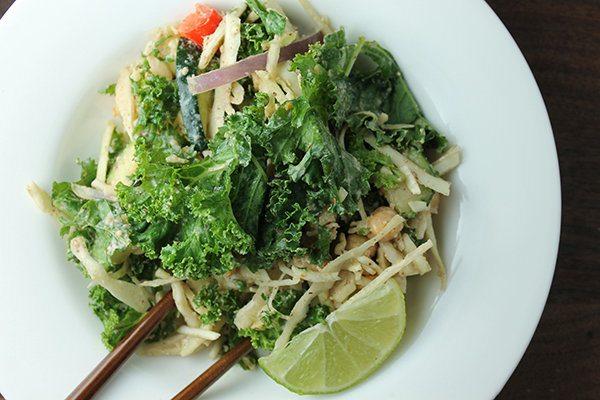 Pad Thai Kale Salad