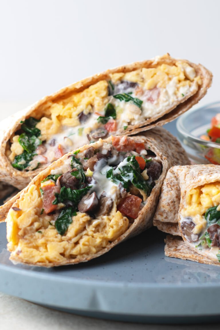 The whole family will enjoy these nutritious and flavorful breakfast burritos!
