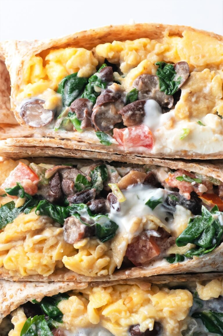 These yummy southwest breakfast burritos are perfect for busy, on-the-go mornings!