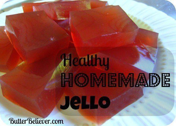 Healthy Homemade Jello
