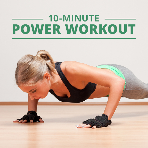 10-Minute-Power-Workout