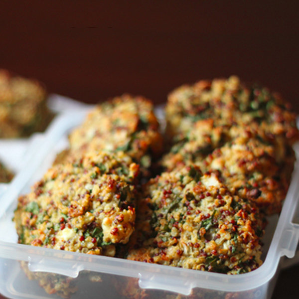 Baked Kale and Quinoa Patties