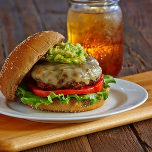 Clean Eating Chipotle Burgers