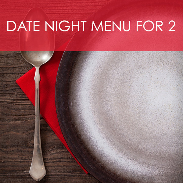 Date Night Menu for Two