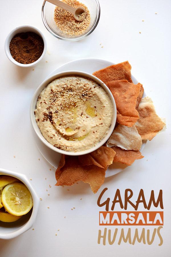 Garam Masala Hummus
