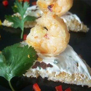 Lemongrass Shrimp on Toast Recipe