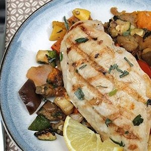 Mediterranean Grilled Chicken and Vegetables