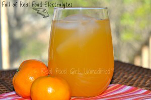 Real Food Electrolyte Drink