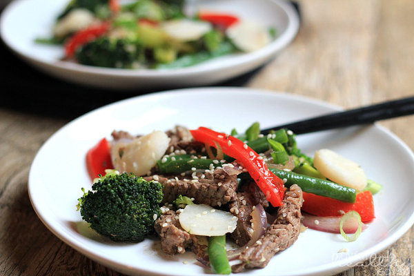 Steak and Vegetable Stir-Fry