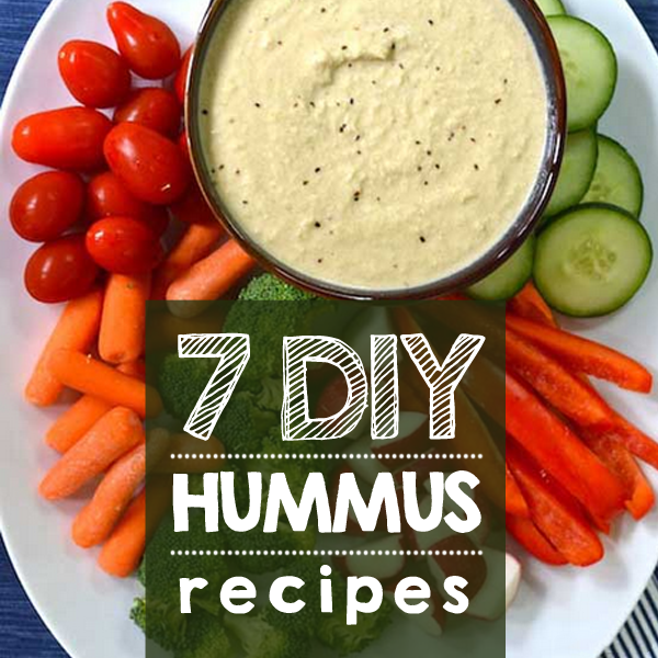 7 DIY Hummus Recipes