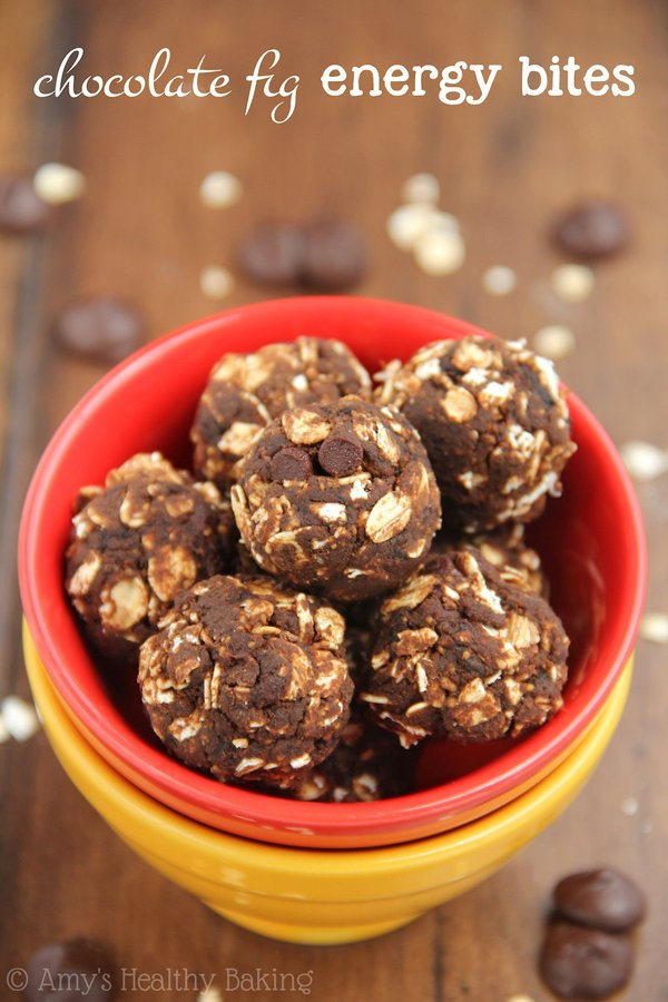 Chocolate Fig Energy Bites