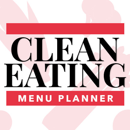 clean eating menu planner download