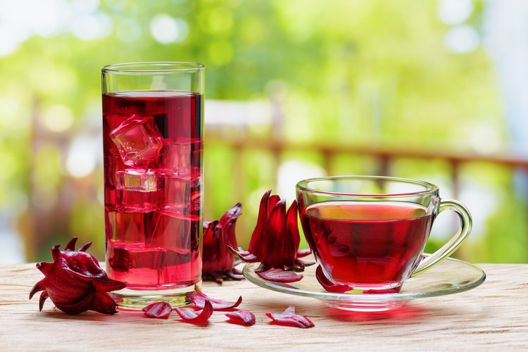 Cool Down Hibiscus Iced Tisane