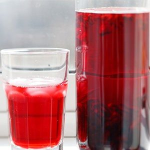 Cool Down Hibiscus Iced Tea