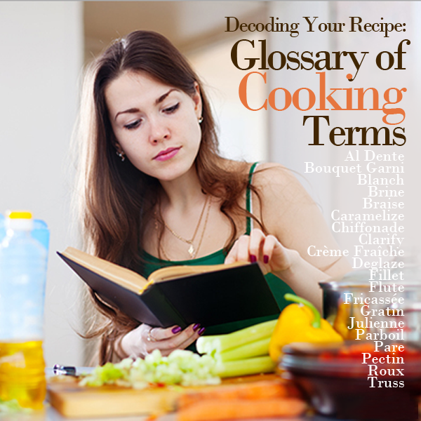 Decoding Your Recipe- Glossary of 20 Cooking Terms