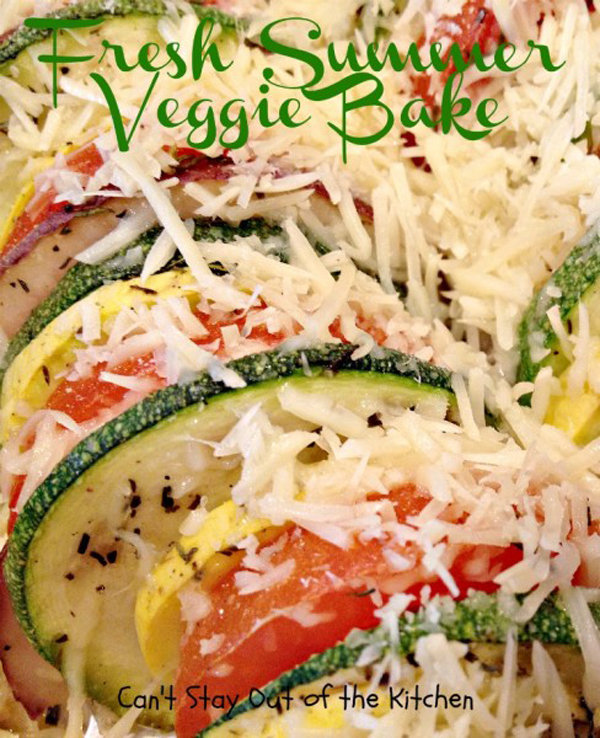 Fresh Summer Veggie Bake