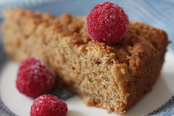 Gluten Free Vegan Banana Snacking Cake