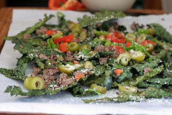 Kale Chip Nachos