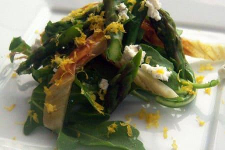 Roasted Asparagus and Fennel Salad