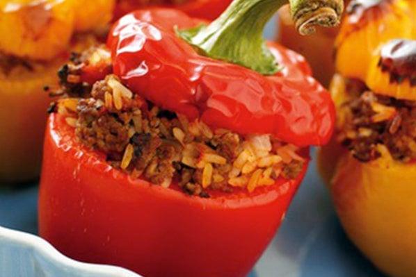 Slow Cooker Southwestern Stuffed Peppers