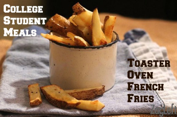 Toaster Oven French Fries