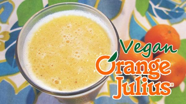 Vegan Orange Julius Protein Shake