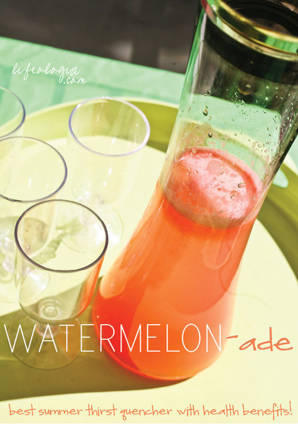 Watermelon-ade Thirst Quencher