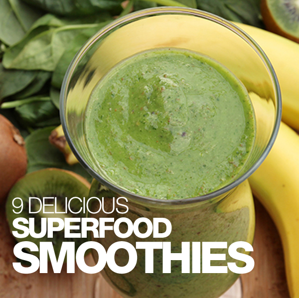 9 Delicious Superfood Smoothies