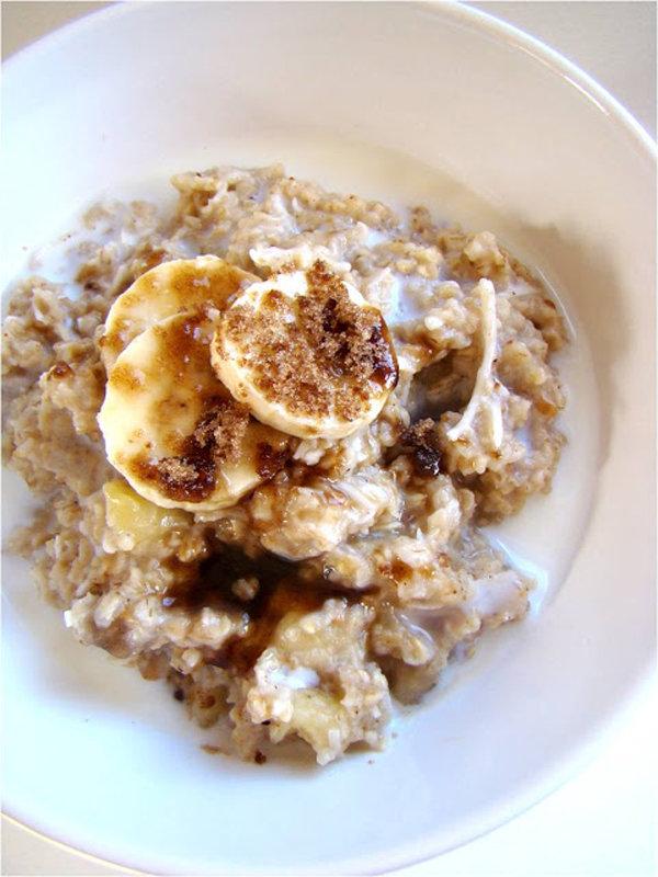 Banana Coconut Oatmeal
