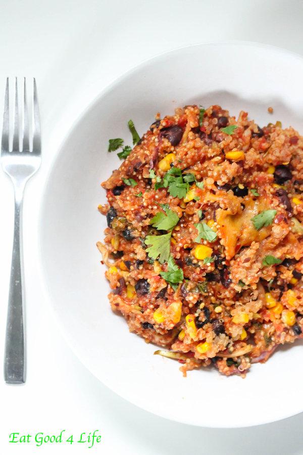 Chipotle Quinoa Casserole
