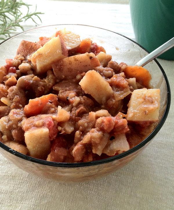 Chunky Rosemary Vegetable Stew