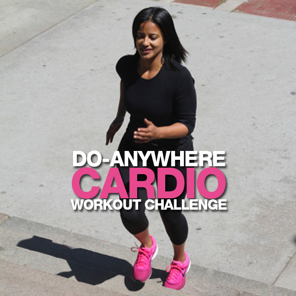 Do-Anywhere Cardio Workout Challenge
