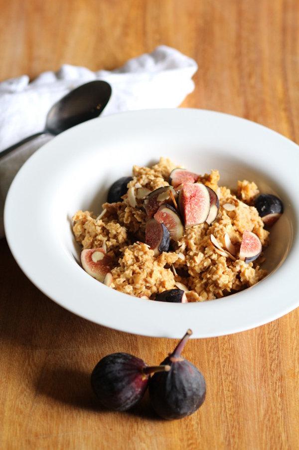 Fig and Pumpkin Oatmeal