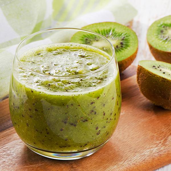 Green Tea Kiwi Berry Smoothie