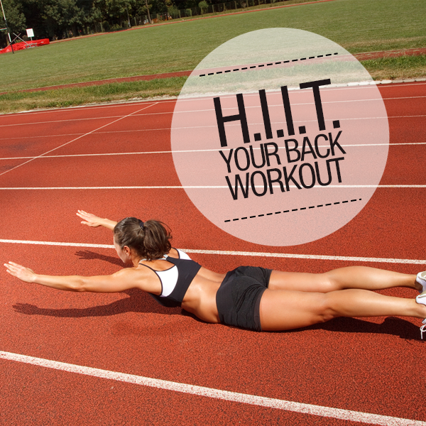 HIIT Your Back Workout